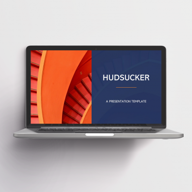 Hudsucker Free PowerPoint Template